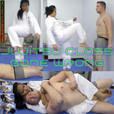 Jujitsu Class Gone Wrong