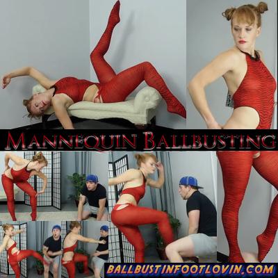 Mannequin Ballbusting