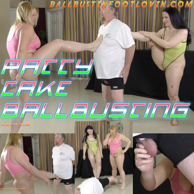 Patty Cake Ballbusting