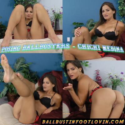 Posing Ballbusters – Chichi Medina