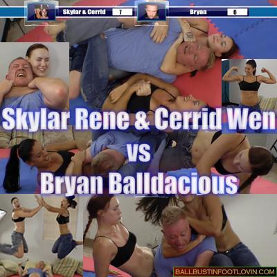 Skylar Rene & Cerrid Wen vs Bryan Balldacious