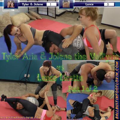 Tyler Aria & Jolene the Valkyrie vs Lance Licatta – Part 1 of 2